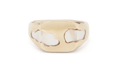 The 15 best unique and emerging jewellery designers that are on trend right now ellie mercer signet ring