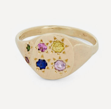 The 15 best unique and emerging jewellery designers that are on trend right now seb brown signet ring