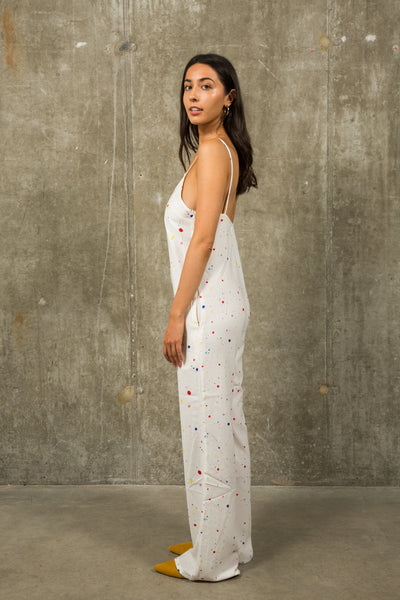 Paint Splatter Jumpsuit