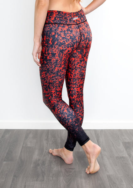 Poppy Red Yoga Pants