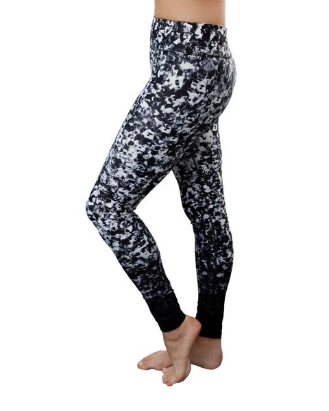 Poppy Black and White Yoga Pants