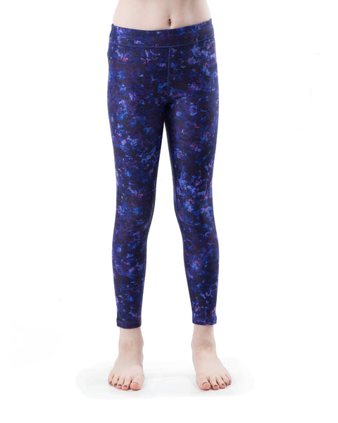 Kids Violet Yoga Pants