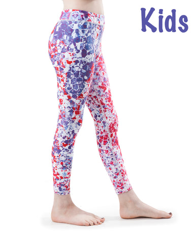 kids poppy black and white  kids yoga pants  bakasana