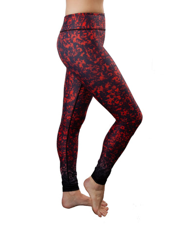 Poppy Red (MK2) Yoga Pants