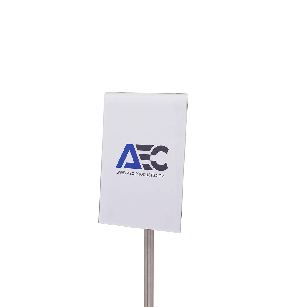 A4 Slimline Display Stand