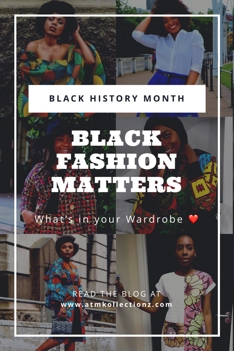Black Fashion Matters in Celebration of Black History Month