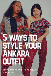 5 Ways to Style your favourite Ankara Styles for a Special Occasion