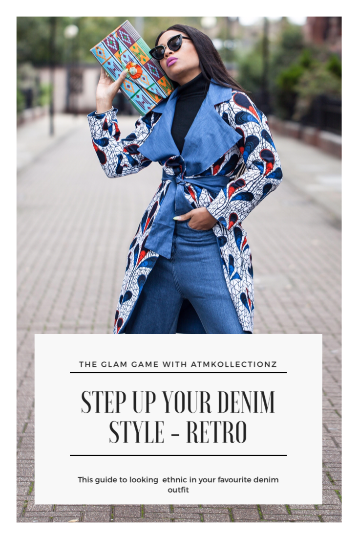 Inspired to create a contemporary look using my favourite denim
