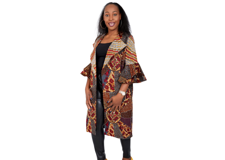African Print <br> Outerwear/Jacket