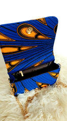 African Print Shoulder Bag Crossbody Ankara Print Bag - Nelly - African Clothing from CUMO LONDON