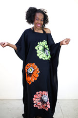 Embellished Ankara Inspired Bubu - African Clothing from CUMO LONDON