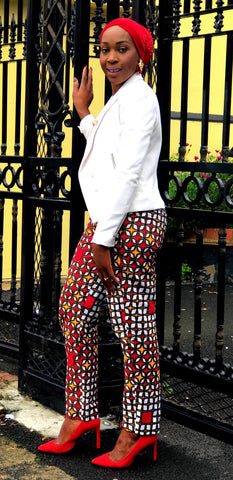 African Print Ankara Trousers - African Clothing from CUMO LONDON