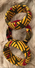3pcs Ankara print Bangles (in Variable colours) - African Clothing from CUMO LONDON
