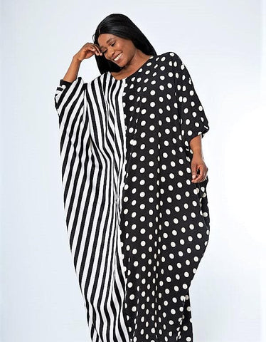African Inspired Kaftan Bubu Maxi Dress - Uri - African Clothing from CUMO LONDON