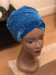 Beaded Turban - Single Hand - African Clothing from CUMO LONDON