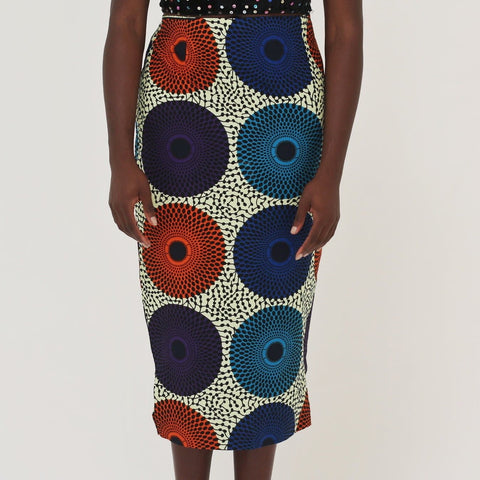 African Print Ankara batik Pencil skirts