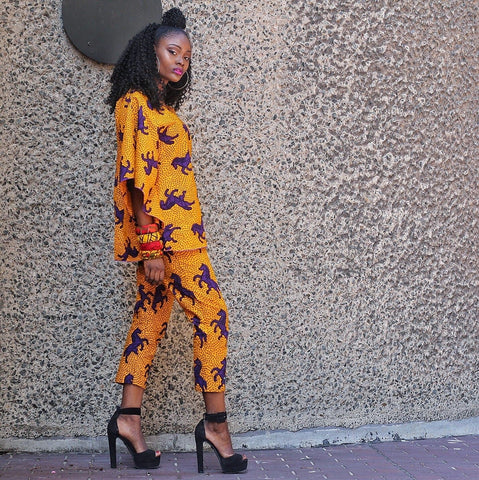 Ready to Wear African Print Ankara  Top for Women - ATMKollectionz