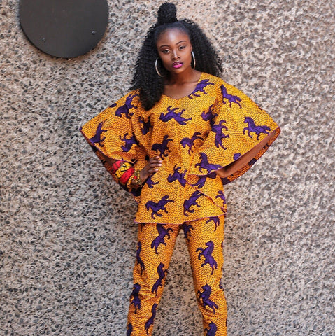 Ready to Wear African Print Ankara  Top for Women