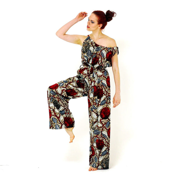 African Print Ankara jumpsuit - African Clothing from CUMO LONDON