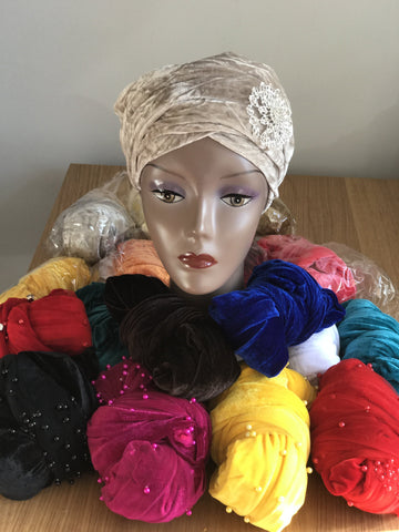 Plain Turban - Double Hand