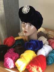 Plain Turban - Double Hand - ATMKollectionz