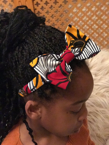 Ankara Hairband - African Clothing from CUMO LONDON