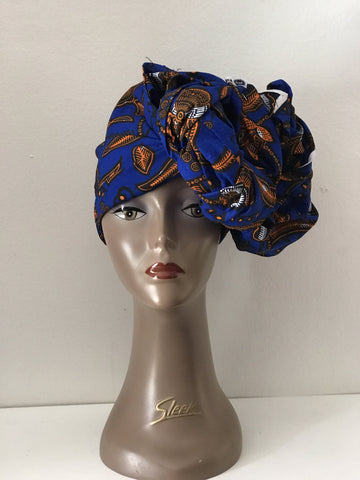 African Prints Cotton Square Scarf Ankara cotton Scarves Shawl Hijab