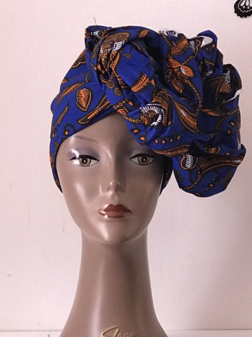African Prints Cotton Square Scarf Ankara cotton Scarves Shawl Hijab - African Clothing from CUMO LONDON