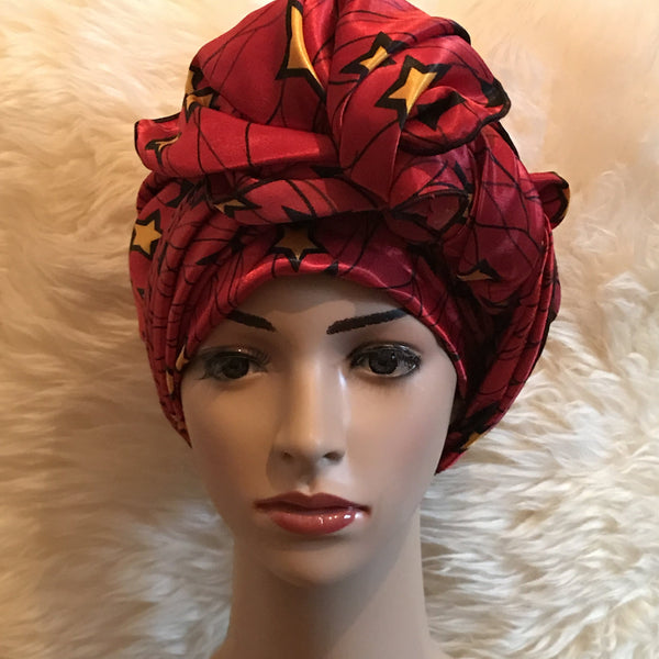 African Prints Silk Square Scarf Ankara cotton Scarves Shawl Hijab - African Clothing from CUMO LONDON