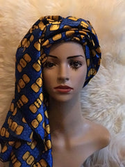African Prints Silk Square Scarf Ankara cotton Scarves Shawl Hijab - ATMKollectionz
