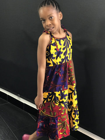 African Prints Ankara Dress