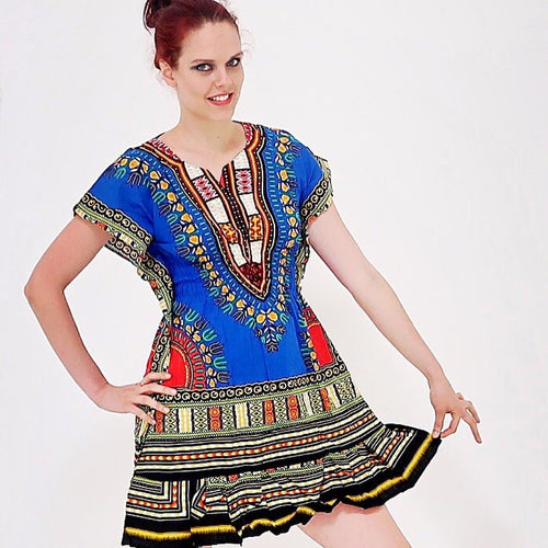 African Prints Danshiki Dress