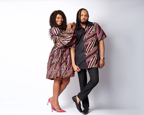 New in African Print Shirt for Men - Faze