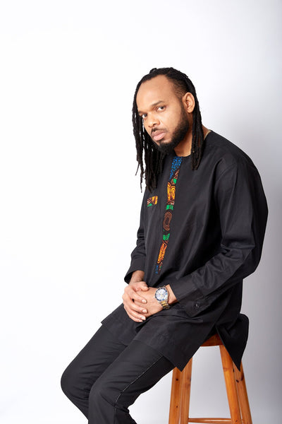 New in Kaftan Set for Men - Obiora
