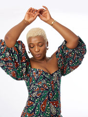 Fela Off Shoulder African Print Top/Blouse