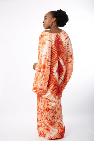New in: African Inspired Kaftan Boubou Bubu Maxi Dress - Zitel