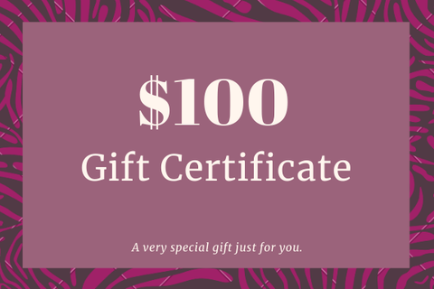 US $100 Gift Card