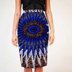 African Print Ankara batik Pencil skirts - ATMKollectionz