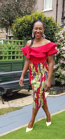New in African Print Ankara Smoky Bodycon Pencil skirts - ATMKollectionz