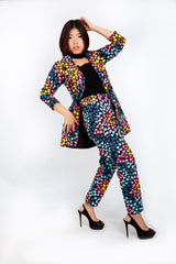 New In ONNA African Ankara Print Jacket and Trouser Set - ATMKollectionz