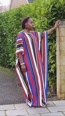 African Fashion Bubu Maxi Dress - One Size Fits All - African Clothing from CUMO LONDON