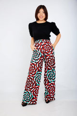 African Print Ankara Trousers - ATMKollectionz