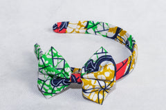African Print Mix pattern Ankara Hair band - African Clothing from CUMO LONDON