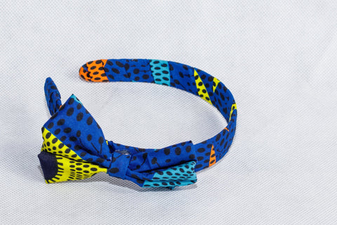 African Print Mix pattern Ankara Hair band