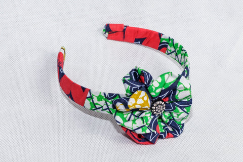 African Print Mix pattern Ankara Hair band - ATMKollectionz