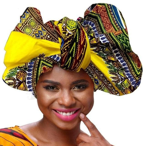 African Print Headwrap / Headtie - ATMKollectionz