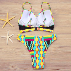 African Print bikinis Set - ATMKollectionz