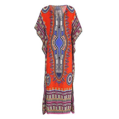 African Print Cover-ups Beach Tunics - African Clothing from CUMO LONDON