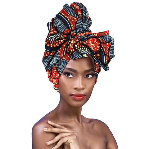 New In African Ankara Print Headwraps/Scarf