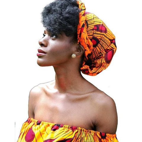 New In African Ankara Print Headwrap/Headtie - African Clothing from CUMO LONDON